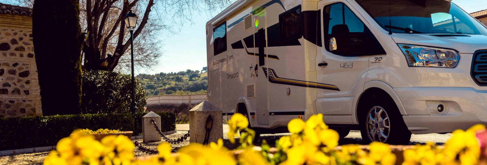 Alquiler de autocaravanas en Toledo y Madrid